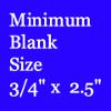 3/4 by 2 1/2 Pen Blank